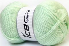 Vente au détail: pelote de laine vert clair