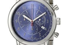 Sell: 88 Rue du Rhone Men's Double 8 Blue Dial Swiss Watch $700
