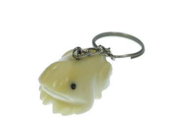 Vente au détail: Porte clés grenouille tagua