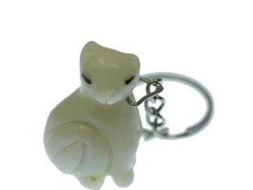Vente au détail: Porte clés chat couché tagua