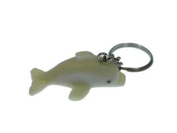 Vente au détail: Porte clés dauphin tagua