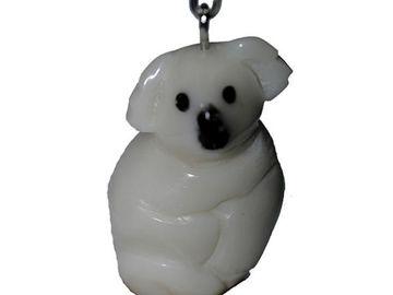 Sale retail: Porte clé Koala en tagua