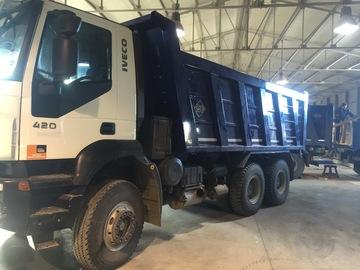 En alquiler: Camion Trakker caja 18 m3