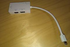 Myydään: Apple Macbook thunderbolt to hdmi and dvi