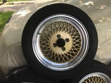 Selling: 15x7 | 4x100 | Enkei 92 wheels for sale