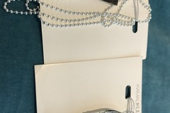 Sell: Lot of 21 Silver Fish Pendents &Ball Chain Necklace ($105)