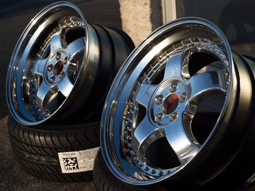 Selling: 18x9 & 18x10 | 5x100 | Tracer Tech 1 wheels for sale