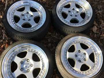 Selling: 17x10 | 5x114.3 with 5x112 adapters | O.Z. Racing Pegasus