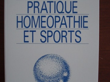 Vente: Guide pratique homéopathie et sports - Dr M. Gardénal