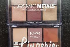 Venta: Paletas cosmic metals y lid lingerie de Nyx