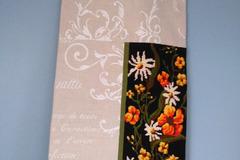 """Vente au détail: Grand sac à pain, sac à baguettes """"Bouquet champêtre"""", mixan"""
