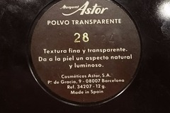 Venta: Polvos transparentes Margaret Astor número 28
