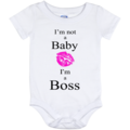 Selling: I'm not a Baby, I'm a Boss - Onesie