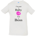 Selling: I'm not a Baby, I'm a Boss - Onesie - Infant Jersey T-Shirt