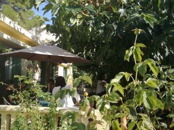 NOS JARDINS A LOUER: Jardin terrasse aix cuisine/sdb extérieur parking rue