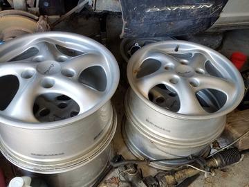 Selling: 17x7 & 17x9 | 5x130 | Porsche Turbo Twist