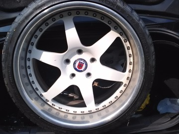 Selling: ? | 5x120 | Two HRE Performance Wheels