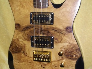 Selling: Custom Occhineri guitar