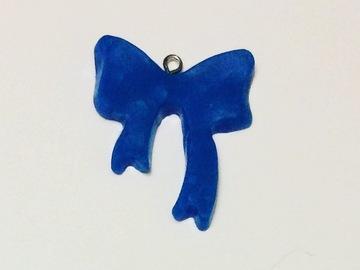 Sale retail: Pendentif Noeud Bleu