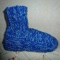 Vente au détail: chausson d'interieur montant enfant un mélange de 3 laine