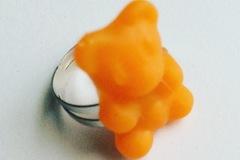 Vente au détail: Bague Ourson Orange