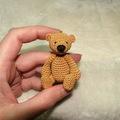 Vente au détail: Tutoriel amigurumi au crochet Erwan l'ours
