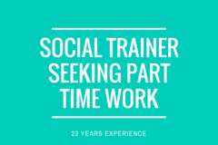 Jobs & Volunteering: Social Trainer