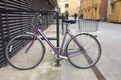 Renting out: Ravishing Raleigh purple with basket BOOKED