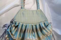 Vente au détail: N° 2 sac à plis dans un joli camaïeu de bleu