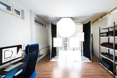 Renting out: Jaettu, 25 neliön työtila Kalliossa, vapaa heti