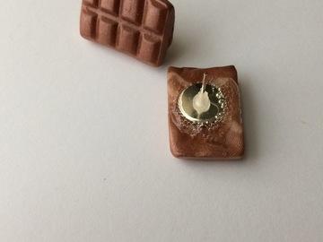 Vente au détail: Boucles d'oreilles Chocolat