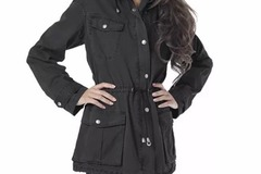 Sell: NWT Buffalo David Bitton Anorak Jacket Black Medium - 15