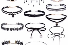 Sell: RETAIL READY PACKAGED ASSORTMENT OF FASHIONABLE CHOKERS