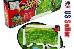 Sell: Deluxe Soccer Goal Set - 12 Per Box