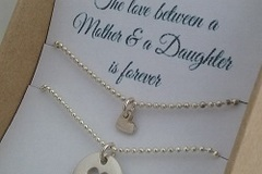 Products: Mother and Daughter necklace set