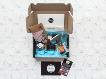 Products: Artisan chocolate tasting box