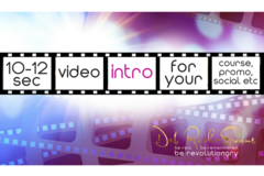 Services: Branded Video Intro (10-12 seconds) $70-130