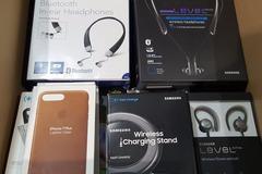 Sell: Wireless Lot - Samsung, Apple, Nomad, Natv Union MSRP $1,830