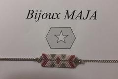 Vente au détail: Bracelet Perles Miyuki Délicat