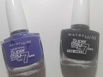 Venta: Esmaltes Maybelline Forever Strong Stay 7 days NUEVOS