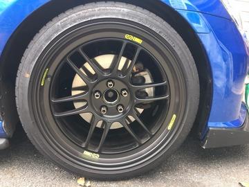 Selling: 18x9.5 | 5x100 | Enkei RPF1 wheels for sale