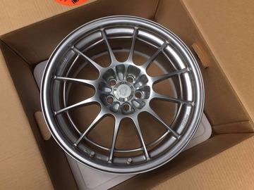 Selling: 18x8 | 5x100 | Enkei NT03+M wheels for sale