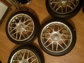 Selling: 18x7.5 | 5x100 | BBS RCs wheels for sale