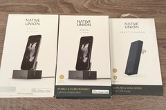 Sell: 21 Native Union Phone Charging Docks & Cables- MSRP $819.70