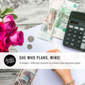 Services: She Who Plans, WINS!  Business Planning Course $397