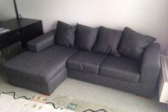 Myydään: 3 person divan sofa