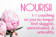 Services: Nourish Deluxe: Holistic health coaching