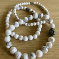 Products: Howlite Bracelets (Set of 3)
