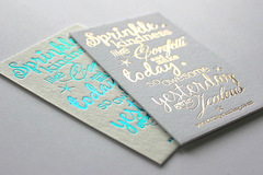 Services: Foil Printing