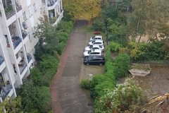 Daily Rentals:  Berlin Germany, well-located parking space, gated courtyard